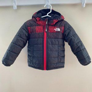 North Face Toddler Boys' Reversible Winter Coat 2T